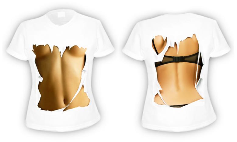 зd футболки с сиськами